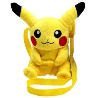 Pokemon Plush Shoulder Bag Pikachu 16 cm