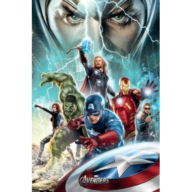 The Avengers - Power Poster 61 x 91 cm