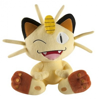 Pokemon, Meowth jucarie plus 25 cm
