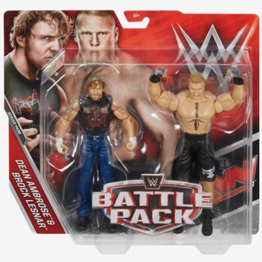 Dean Ambrose & Brock Lesnar WWE Battle Packs 43.5