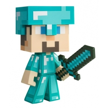 Minecraft, Figurina Diamond Steve 15 cm