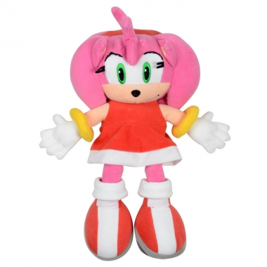 Sonic The Hedgehog,  Jucarie Plus Amy 30 cm