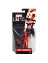 Figurina Lady Deadpool 10 cm, Marvel Legends 2017