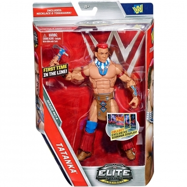 Figurina Tatanka - WWE Elite 47, 18 cm