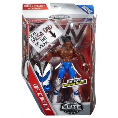 Figurina Kofi Kingston - WWE Elite 43, 18 cm
