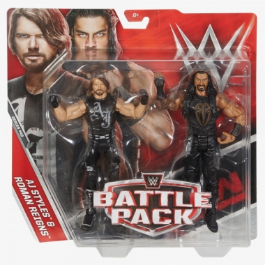 AJ Styles & Roman Reigns - WWE Battle Packs 45