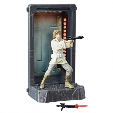 Figurina Diecast  Luke Skywalker (Episode IV), Black Series Titanium