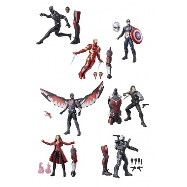 Marvel Legends, Best of Avengers 2017, set 7 figurine