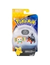Pokemon Rowlet vs Litten, minifigurine 6 cm