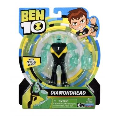 Ben 10, Figurina DiamondHead (Cap de Diamant) cu accesorii 12 cm