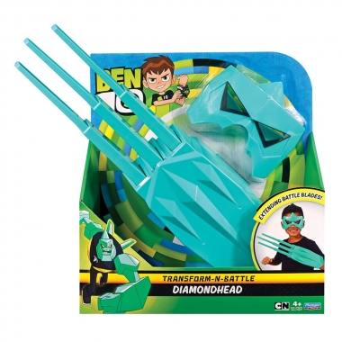 Set accesorii Ben 10, DiamondHead (masca si manusa)