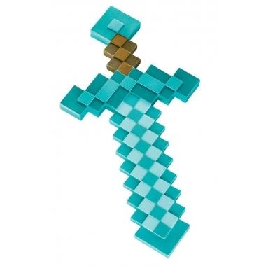 Minecraft, Sabie Plastic Diamond (sword) 51 cm