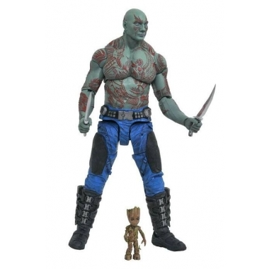Marvel Select, Set Figurine Drax & Baby Groot 18 cm Data aparitie 03/2018