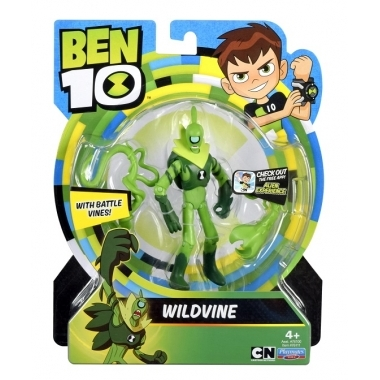 Ben 10, Figurina Steam Wildvine 12 cm