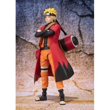 Naruto, Figurina Naruto Uzumaki Sage Mode Advanced 14 cm (mai 2018)