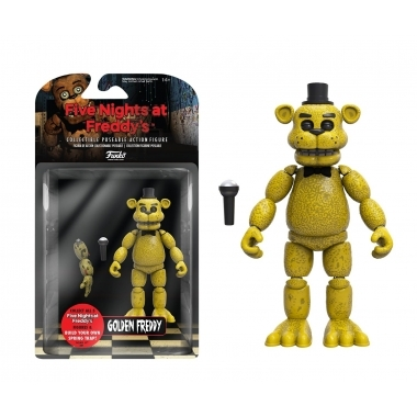 Five Nights at Freddy's, Figurina Golden Freddy 13 cm