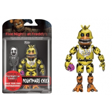 Five Nights at Freddy's, Figurina Nightmare Chica 13 cm
