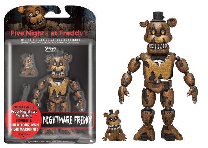 five nights at freddy s nightmare freddy 13 cm fnaf figurine 13 cm