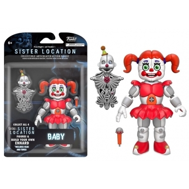 Five Nights at Freddy's, Figurina Baby Sister Location 13 cm