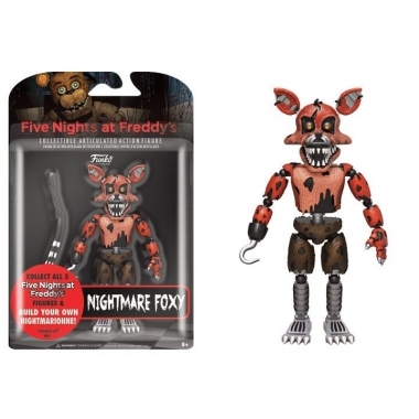 Five Nights at Freddy's, Figurina Nightmare Foxy 13 cm
