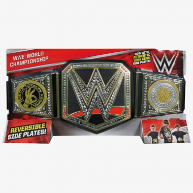 WWE World Championship Toy (Reversible John Cena Side Plates)