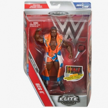 Figurina WWWE Big E Elite 53, 18 cm