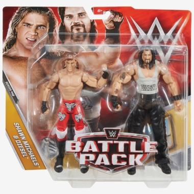 Shawn Michaels & Diesel - WWE Battle Packs 48