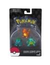 Pokémon: Bulbasaur, Charmander, Squirtle 5 cm