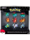 Pokemon Evolution Bulbasaur, Charmander & Squirtle, Set 9 figurine