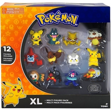 Set 12 minifigurine Pokemon (3 - 5 cm)