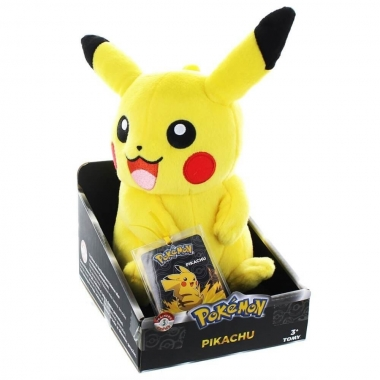 Pokemon Trainer's Choice, Pikachu Plush 20 cm