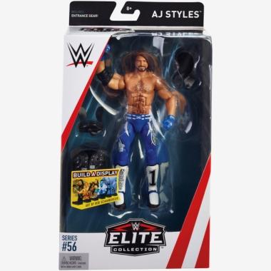 Figurina WWE AJ Styles Elite 56, 18 cm