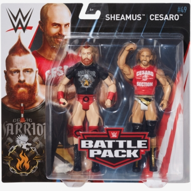 Figurine The Bar (Sheamus & Cesaro), WWE Battle Packs 49