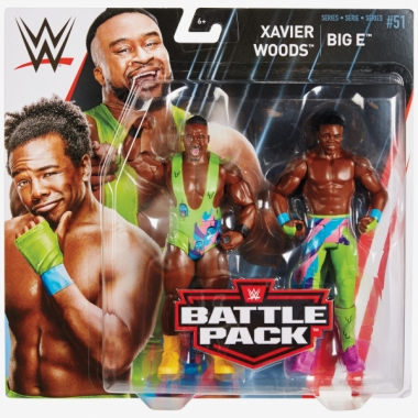 Big E & Xavier Woods (New Day), WWE Battle Packs 51
