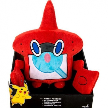 Pokemon, Rotom Pokédex Jucarie Plus 25 cm