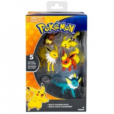 Pokemon, Set 5 minifigurine articulate 6 cm