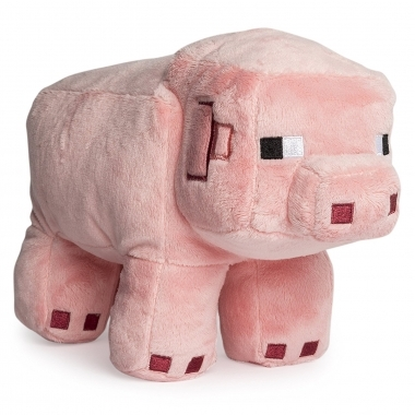 Minecraft, Jucarie de Plus Pig 25 cm