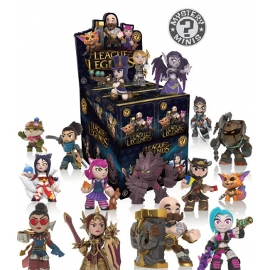 League of Legends, Minifigurina surpriza 6 cm (blind boxes)