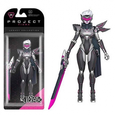 League of Legends, Figurina articulata Fiora (PROJECT Skin) 15 cm