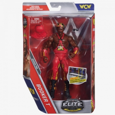Figurina WWE Booker T (Harlem Heat) Elite 46, 18 cm