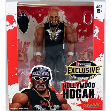 """Red & White"" Hollywood Hulk Hogan - Ringside Exclusive"