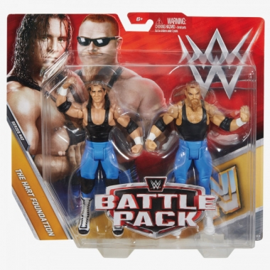 Hart Foundation (Bret Hart & Jim Neidhart) WWE Battle Packs 47