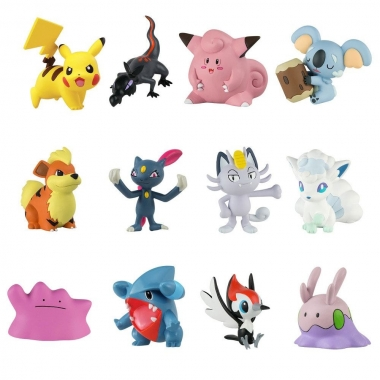 Pokemon, Set 12 minifigurine 3-5 cm