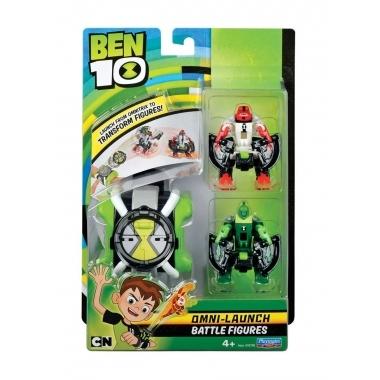 Ben 10, Omnitrix cu lansator si 2 minifigurine (2)