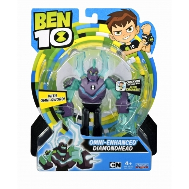 Ben 10, Figurina Cap de Diamant Upgrade 12 cm