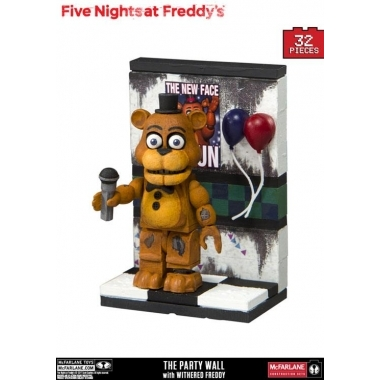 FNAF, Set Constructie (micro) The Party Wall 32 piese