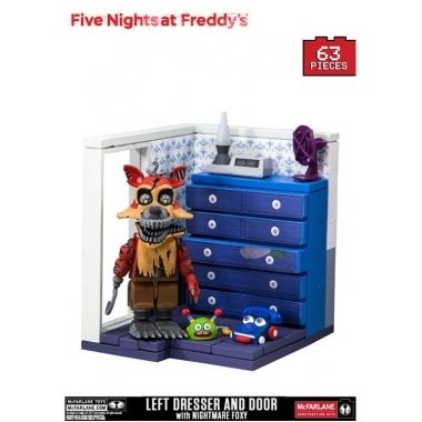 FNAF, Set Constructie Left Dresser and Door 63 piese