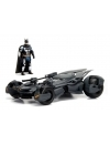 Justice League Diecast Model 1/24 2017 Batmobile with figure