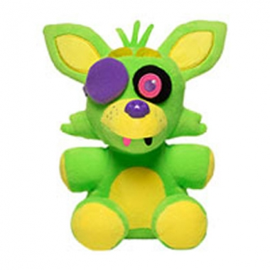 Five Nights at Freddy's, Jucarie de Plus Neon Foxy 15 cm
