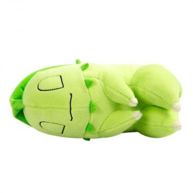 Pokemon Plush Figure Sleeping Chikorita 16 cm